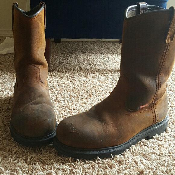 Steel Toed Boots Red Wing